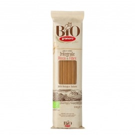 Pasta Grano Duro Spaghetti Integral Granoro 500g