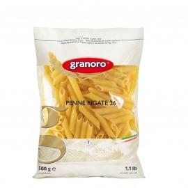Pasta Grano Duro Penne Rigate Granoro Pacote 500g