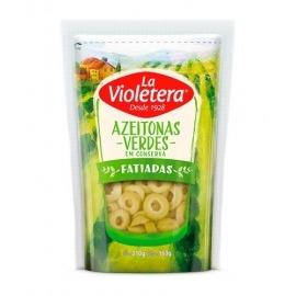 AZEITONA VERDE FAT LA VIOLETERA DOY PACK 160 GR