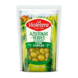 Azeitona Verde com caroço La Violetera 100g