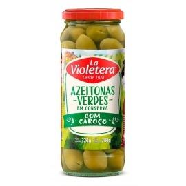 Azeitona Verde com caroço La Violetera 200g