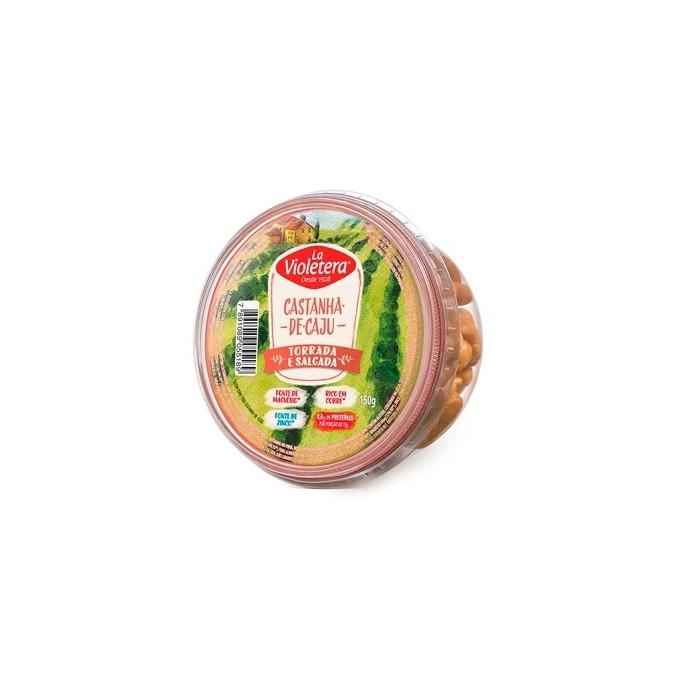 Castanha De Caju Torrada/Salgada Pote 150G