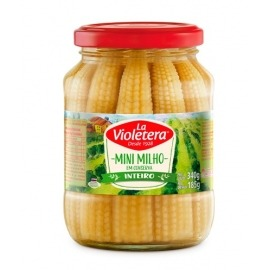 Mini Milho Inteiro La Violetera Vd 185g
