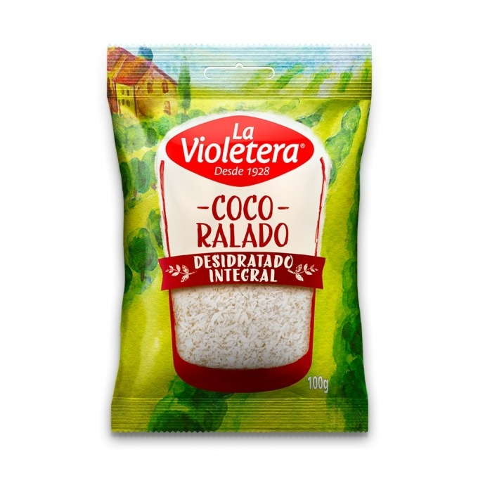 Coco Ralado Pacote 100g