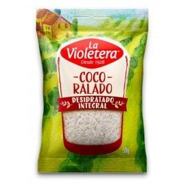 Coco Ralado Desidratado Integral La Violetera 50g