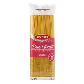 Pasta Grano Duro Spaghetti Rápido Preparo Granoro 500 gr