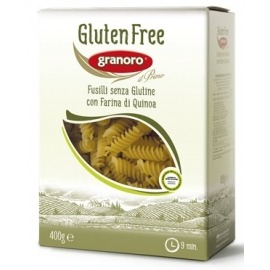 Pasta Fusilli S/ Glúten Granoro 400 gr
