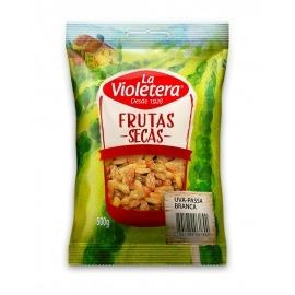 Uva passa branca sem semente La Violetera 500 gr