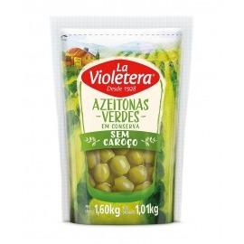 Azeitona verde sem caroço La Violetera 1,01 kg