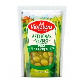 Azeitona verde com caroço La Violetera 150 gr